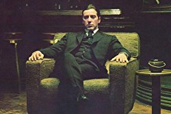 The Godfather: Part Ii Al Pacino Michael Corleone In Chair 24x36 Poster