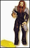 6 John Travolta As Terl Action Figure with Psychlo Blaster & Accessories - Battlefield Earth: The Movie by Trendmasters
